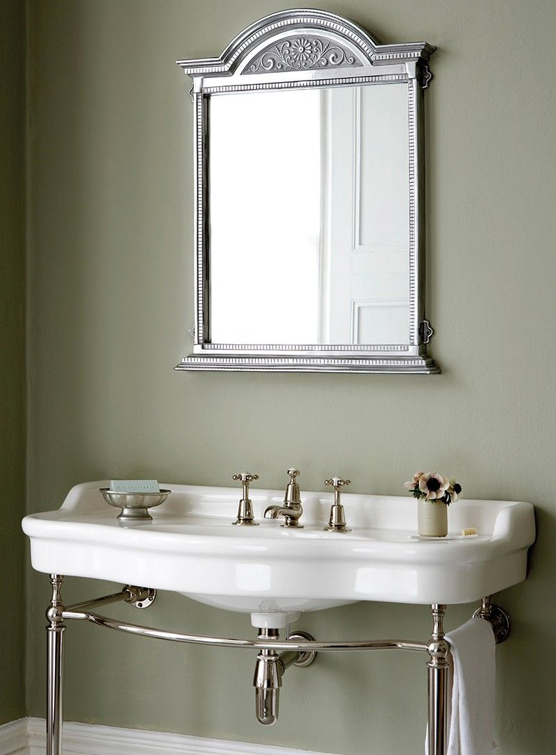 Empress Console On Frame Washstand Buy Online At Catchpole Rye - Cheap bathroom fixtures online
