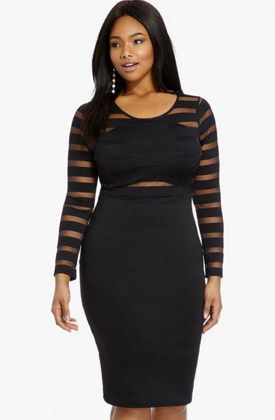 y Black Dress CurvyGirls Curvy Closet Pinterest