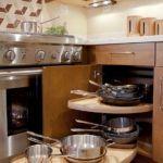 nice 70 Inspiring Corner Kitchen Cabinet Storage Ideas