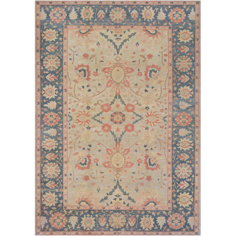 Mansour Superb Quality Handwoven Agra Rug Rugs Hand Weaving Fabric Decor