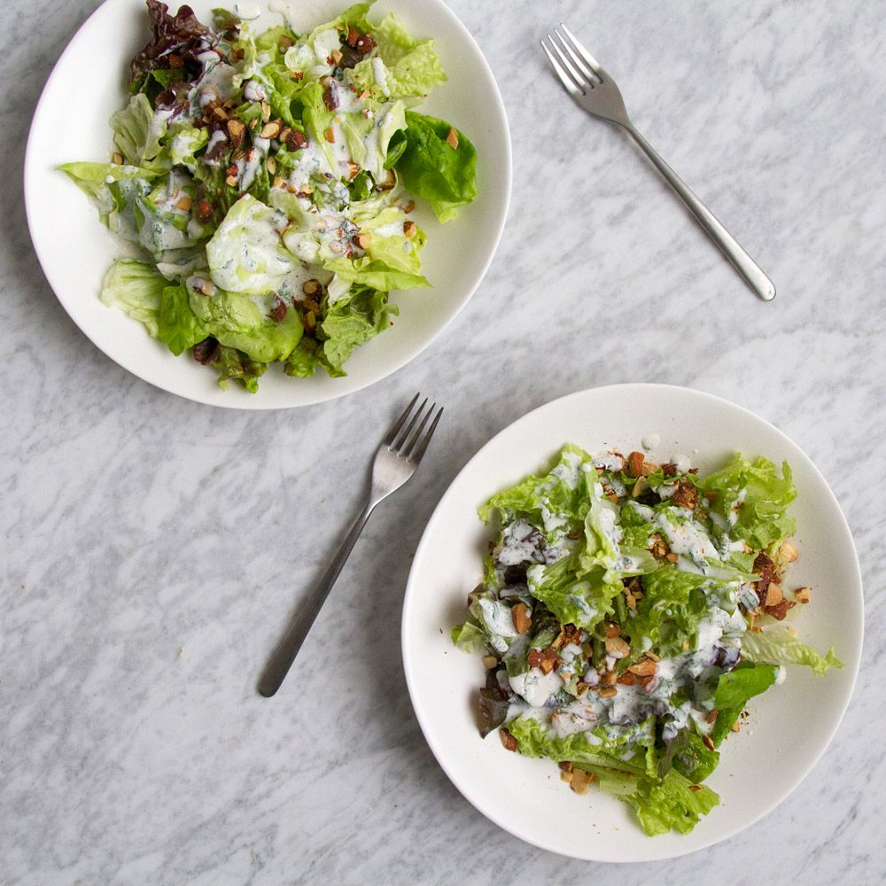 buttermilk dressed spring greens recipe buttermilk dressing