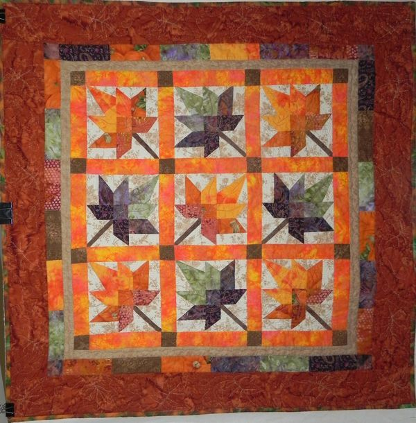 Fall Leaf Quilt Fall Quilt Patterns Quilts Fall Quilts