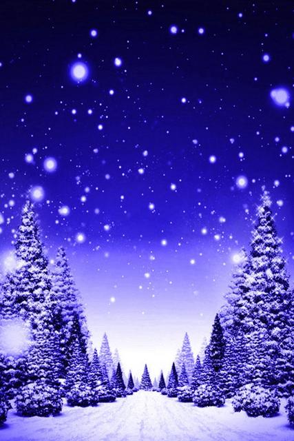 Immagini Di Natale Per Cellulare.Strada Alberata Durante Una Nevicata Festivita Sfondi Per Cellulare Sfondi Ghirlanda Natale Fai Da Te Scale Di Natale