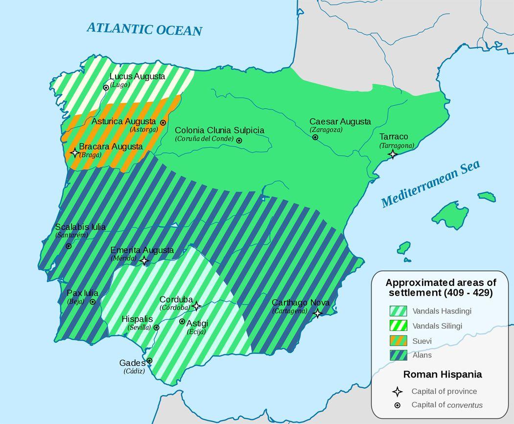 Iberia 409 429 History stuff Pinterest