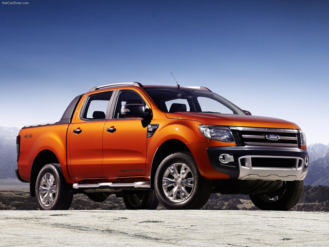 2014 Orange Ford Ranger Review Car Picture Car Hd