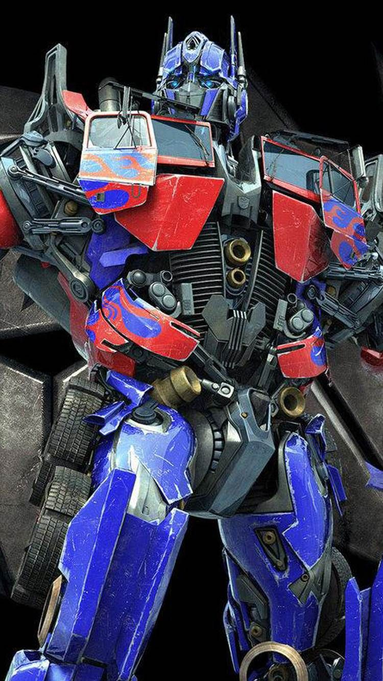 Transformers Optimus Prime Movie iPhone Plus HD Wallpaper
