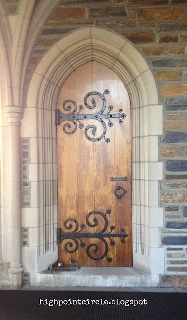 Highpoint Circle Oh Holy Week Wood Doors Interior Gothic House Old Doors