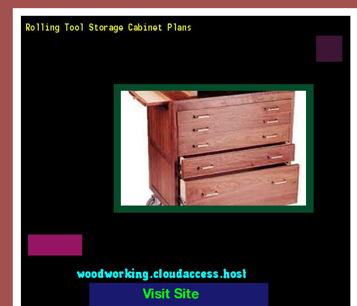 Awesome tool Storage Cabinet Plans