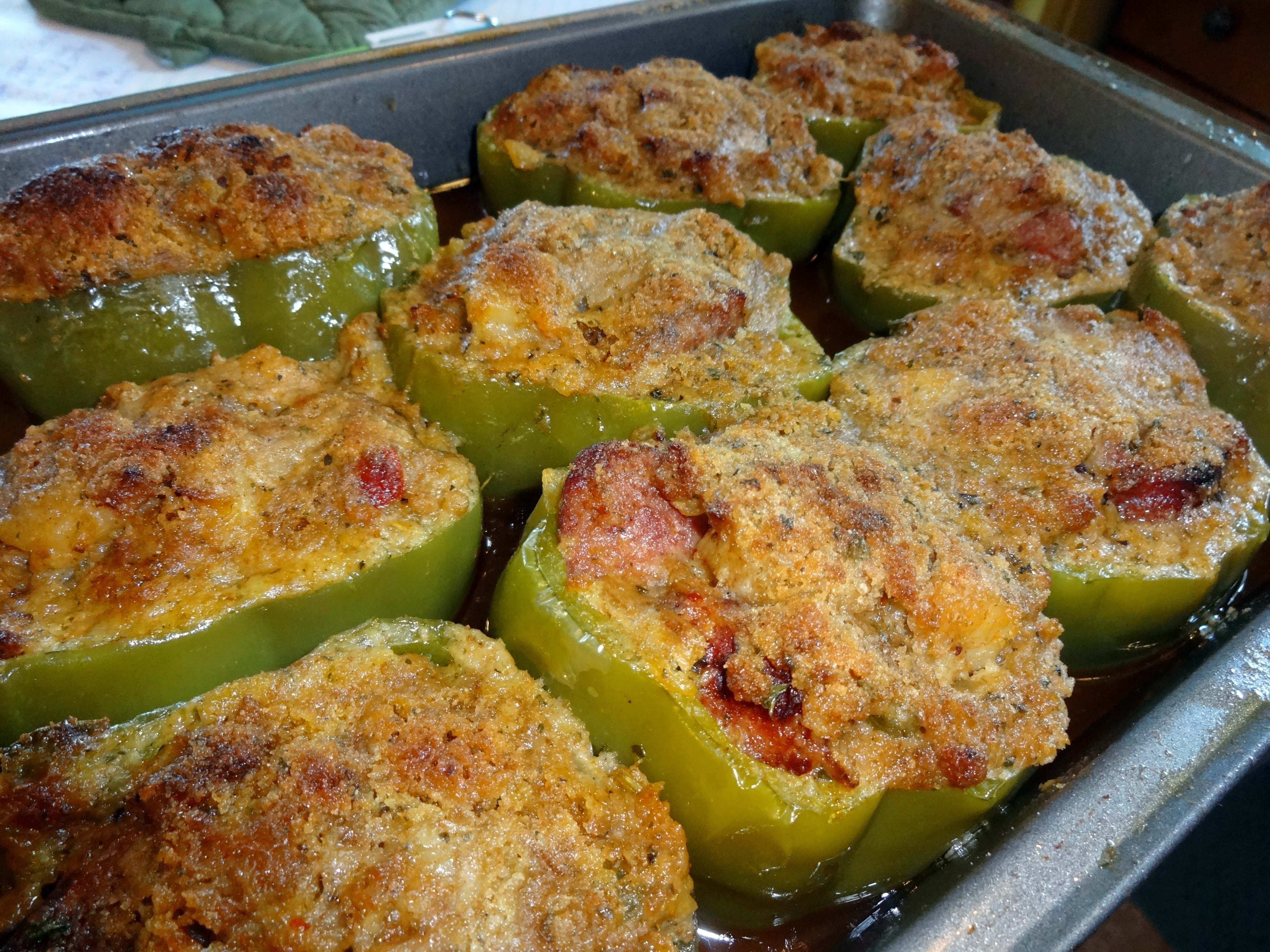 Stuffed Pepper Recipe New Orleans Creole Style Megan Braden Perry Stuffed Peppers Recipes Tasty Dishes