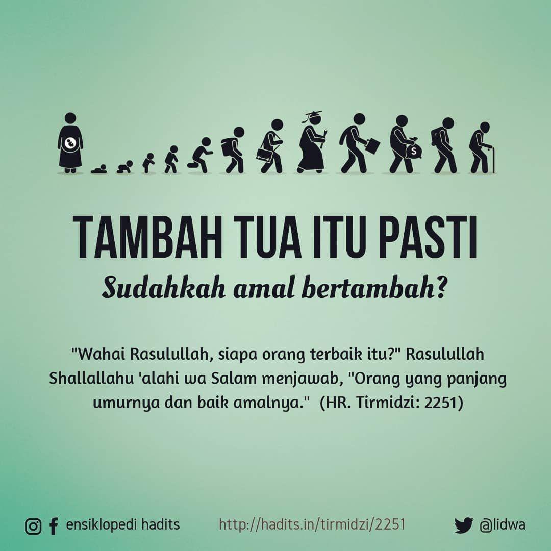 Ensiklopedi Hadits On Instagram Tambah Panjang Umur Harusnya Tambah Amalnya Ťㅤㅤㅤㅤㅤㅤㅤㅤㅤㅤㅤㅤㅤ Wahai Rasulullah Siap Kutipan Muslim Kata Kata Motivasi Motivasi