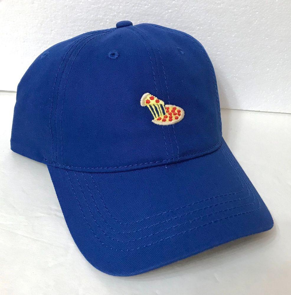 e47f659bddef7 new SLICE OF PIZZA DAD HAT Blue Unstructured Pepperoni AMERICAN EAGLE men women   AmericanEagleOutfitters  BaseballCap