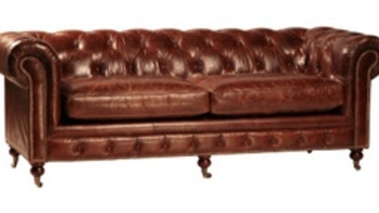Kensington Leather sofa