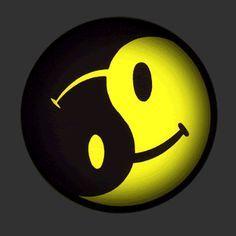 Zeichen yin emoji yang ☯️ Yin