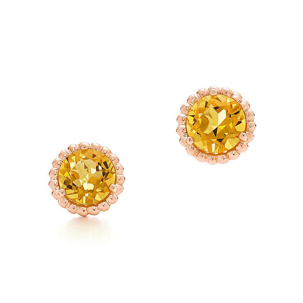 bfcbf31ea1f67 Tiffany Sparklers citrine earrings in 18k gold. | stuff | Earrings ...