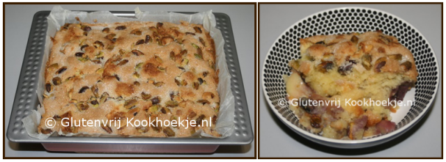 Wilde perziken en pistachenoten taart   Het Glutenvrije Kookhoekje