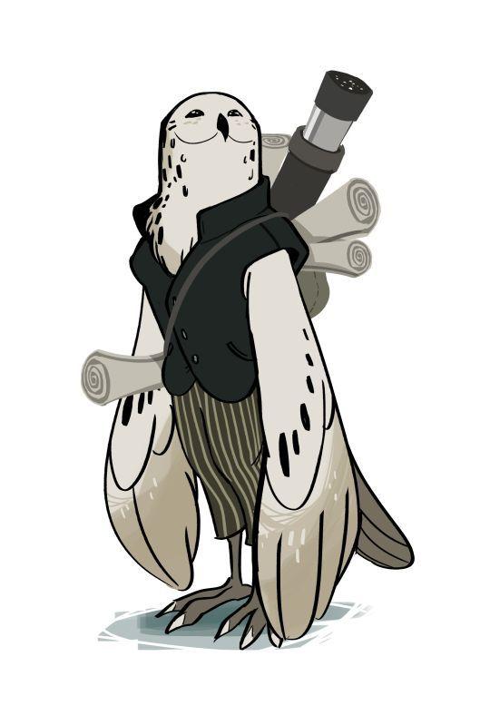 owl male humanoid