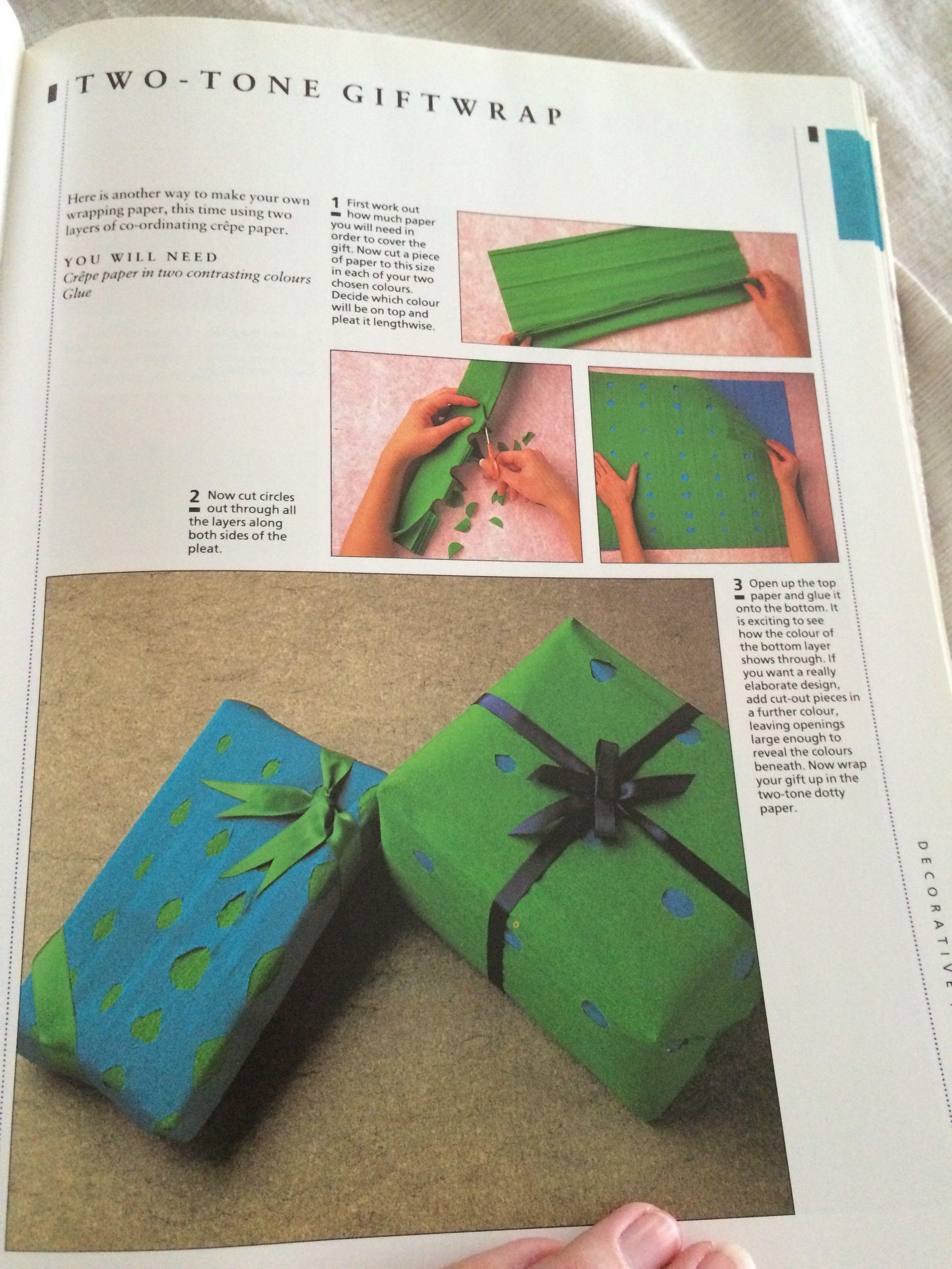 Cut Gift Wrap Mops Group Craft Ideas Pinterest Craft