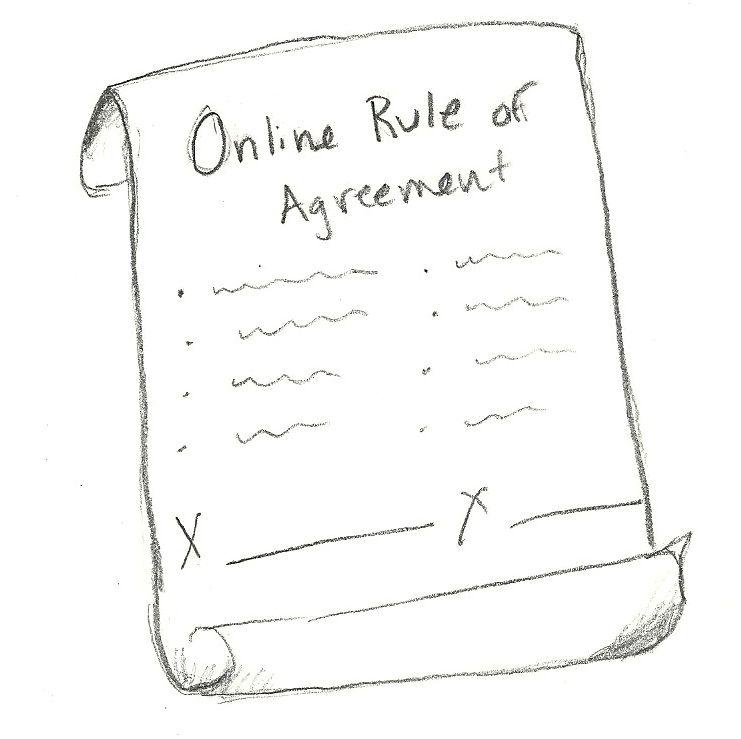 Agreement Cyber Safety Pinterest