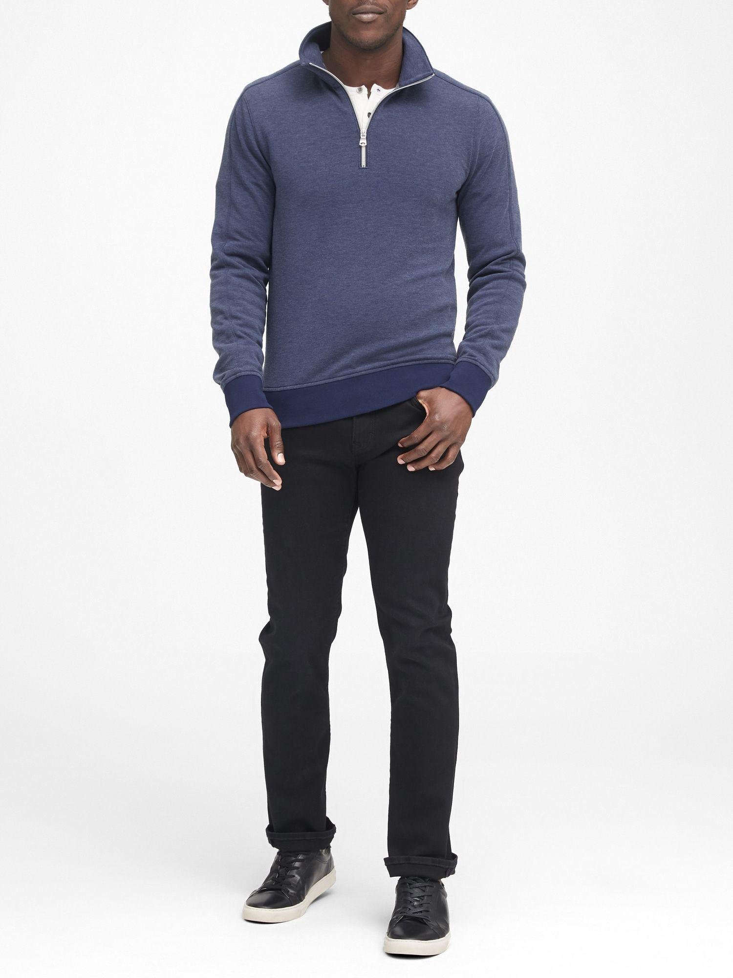 Polartec Fleece Half Zip Sweatshirt Banana Republic Half Zip Sweatshirt Sweatshirt Fleece Zip Sweatshirt [ 2000 x 1500 Pixel ]