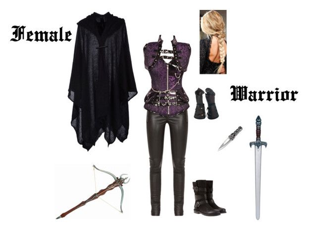 U0026quot;Female Warrior Costumeu0026quot; by browncoat4ever liked on Polyvore featuring Gucci Mint Velvet and ...