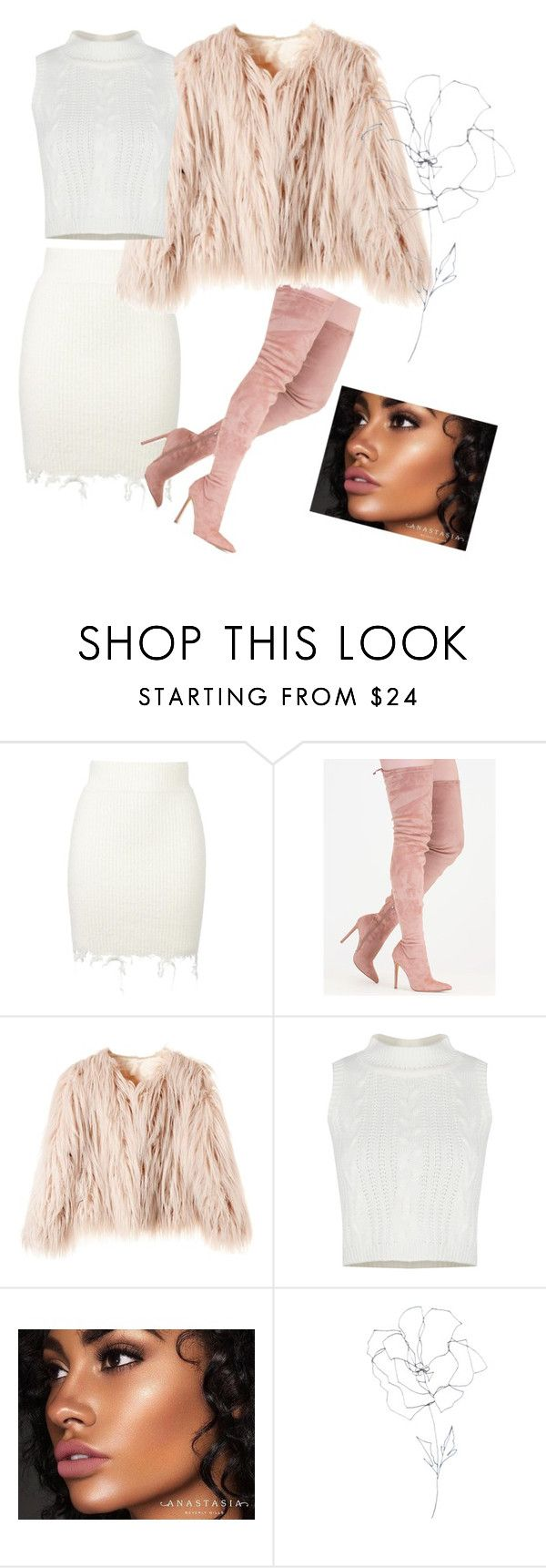 """PINK"" by sheccidvillalvazo ❤ liked on Polyvore featuring adidas Originals, Anastasia Beverly Hills and Blume"