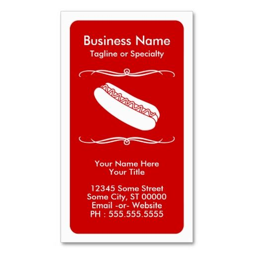 Mod Hot Dog Loyalty Card Zazzle Com Loyalty Card Customer Loyalty Cards Loyalty Card Template