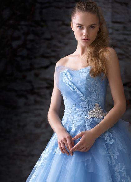 カラードレス ブルー ミルテ Mirte
