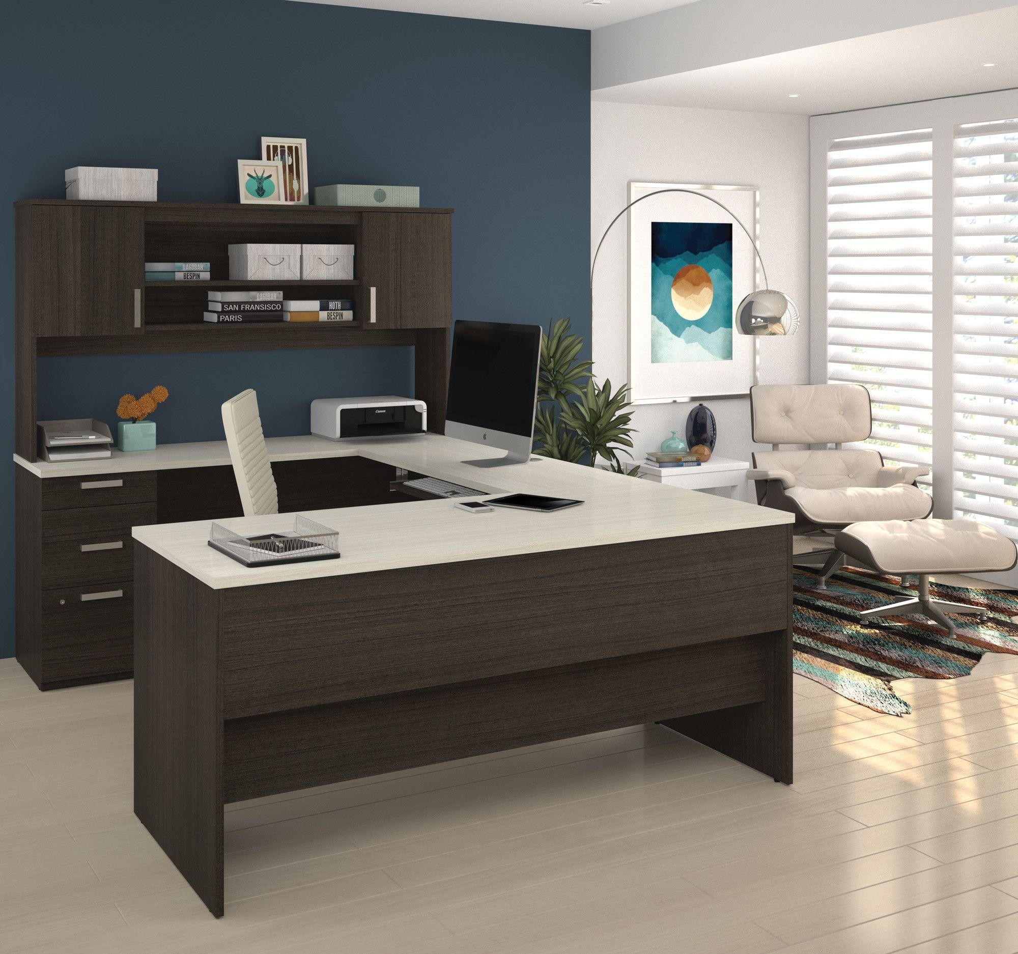 Barts U Shape Executive Desk U Shaped Office Desk Home Office Furniture Home Office Design