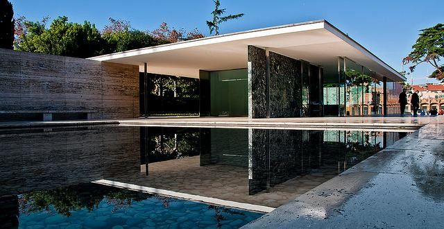 the barcelona pavilion by mies van der rohe pavilion architecture and ludwig mies van der rohe. Black Bedroom Furniture Sets. Home Design Ideas