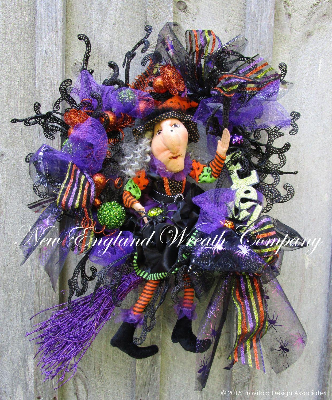 Halloween Wreath, Fall Wreath, Elegant Halloween Wreath