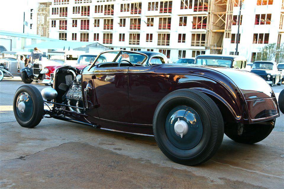 Jesse James' roadster... Hot rods