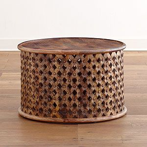 Tribal Carved Coffee Table At Cost Plus World Market