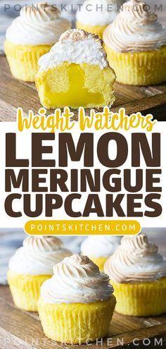 LEMON MERINGUE CUPCAKES #dessert #cupcakes #lemon #meringue #weightwatchers #weight_watchers #lowcarb #ketogenic #slimmingworld #diet #lemonmeringuecupcakes