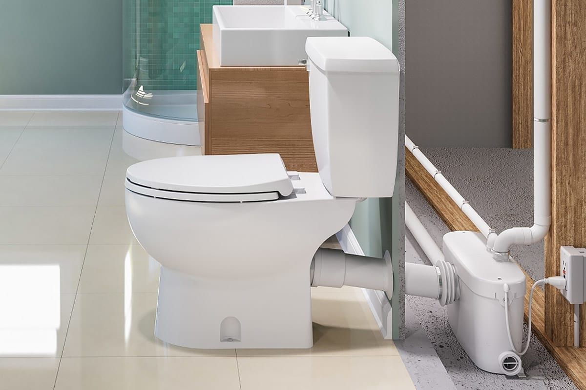 How Do Saniflo Up Flush Toilets Work With Images Basement