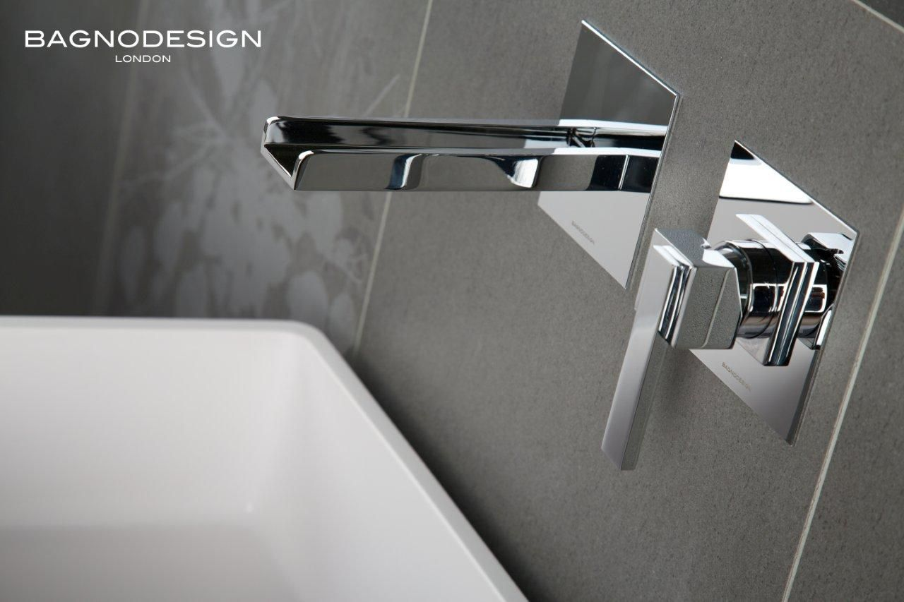 Panama mixer by bagnodesign the waterfall design spout combined