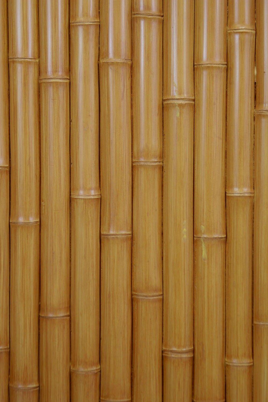 Beautiful Faux Bamboo Wall Panels | Natural Beige Faux Bamboo Interlocking Panels Photo Gallery