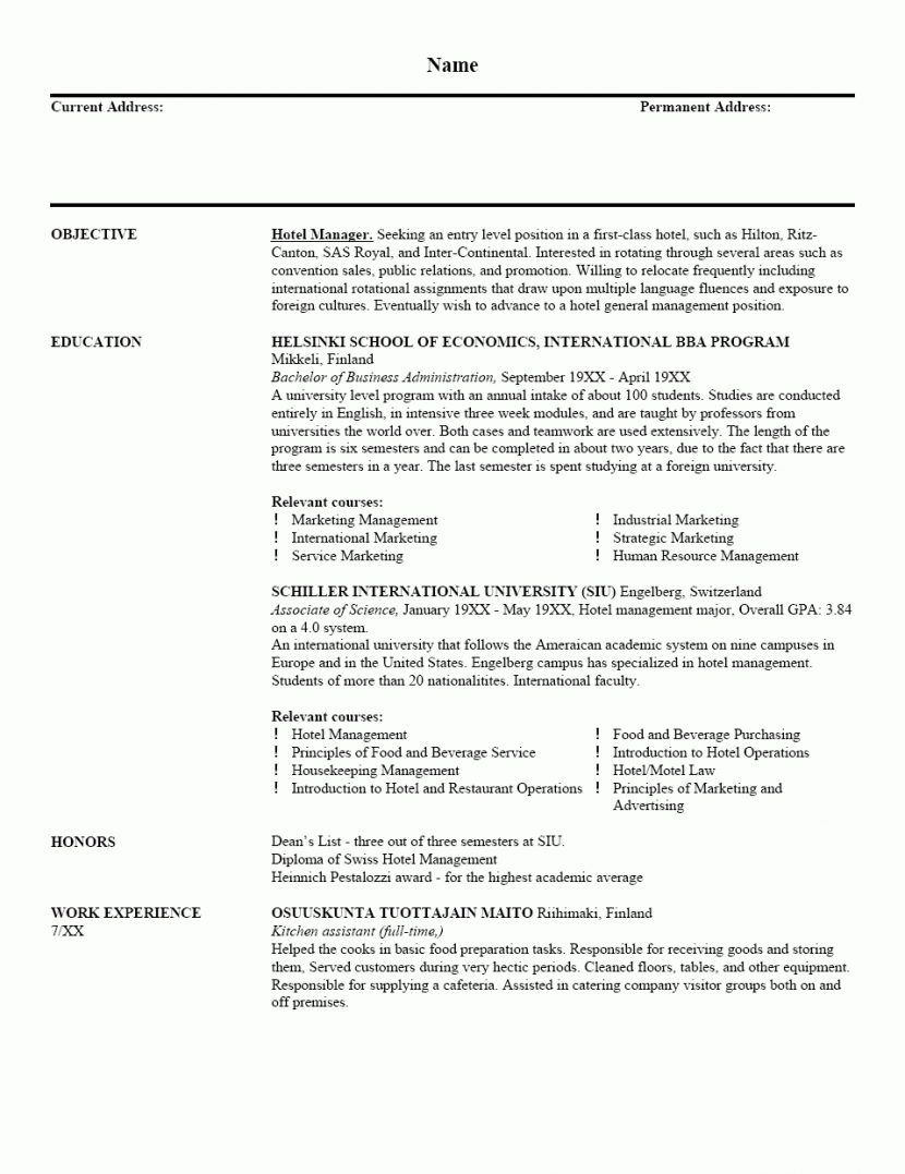 Sample Comprehensive Resume Curriculum Vitae Tem Mdxar Job