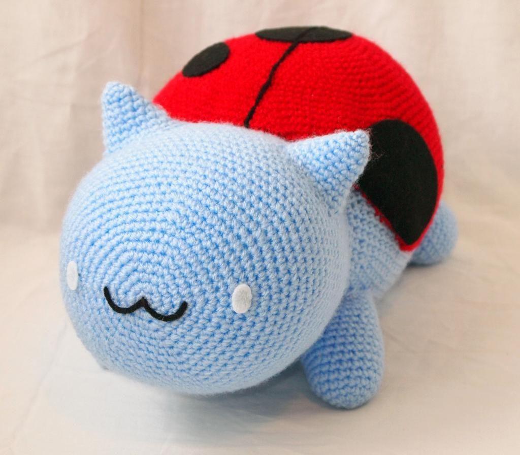 Catbug Amigurumi Plushie Pattern Crochet Crochet Plushie
