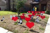 HOCO? Red heart lawn letters are the perfect homecoming proposal! Mix in extra... - #bigHocoProposalsIdeas #extra #Heart #Hoco #HocoProposalsIdeasballoons #HocoProposalsIdeasband #HocoProposalsIdeasbaseball #HocoProposalsIdeasbasketball #HocoProposalsIdeasbear #HocoProposalsIdeasbestfriends #HocoProposalsIdeasbff #HocoProposalsIdeasboyfriends #HocoProposalsIdeascandy #HocoProposalsIdeascar #HocoProposalsIdeascheerleader #HocoProposalsIdeaschickfila #HocoProposalsIdeascountry #HocoProposalsIde #hocoproposals