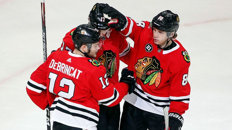 What's the ceiling for the surging Blackhawks? Team