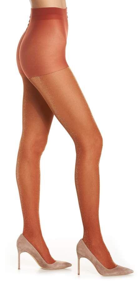 0ce3a5738b1cf Women's Hysteria By Happy Socks Cori Shimmer Tights, Size Small ...
