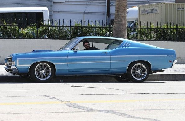 Spotted Aaron Paul Cruising In His Ford Torino Ford Torino Muscle Cars Classic Cars Muscle