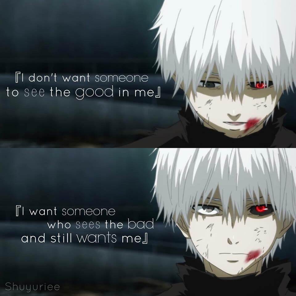 Tokyo Ghoul Quotes: Anime : Tokyo Ghoul