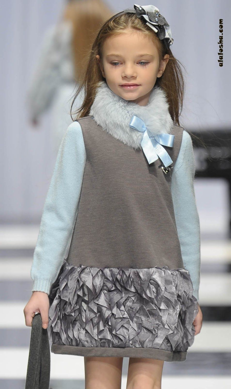 Alalosha Vogue Enfants Child Model Of The Day Lёlya: ALALOSHA: VOGUE ENFANTS: Let It Fur !