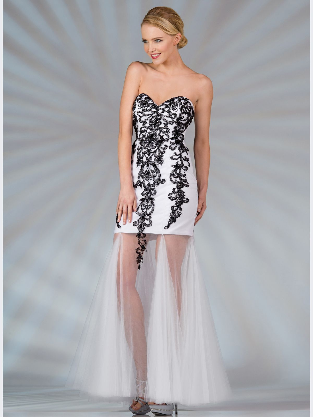 Exclusive Black and White Formal Dresses : Black White Vintage ...