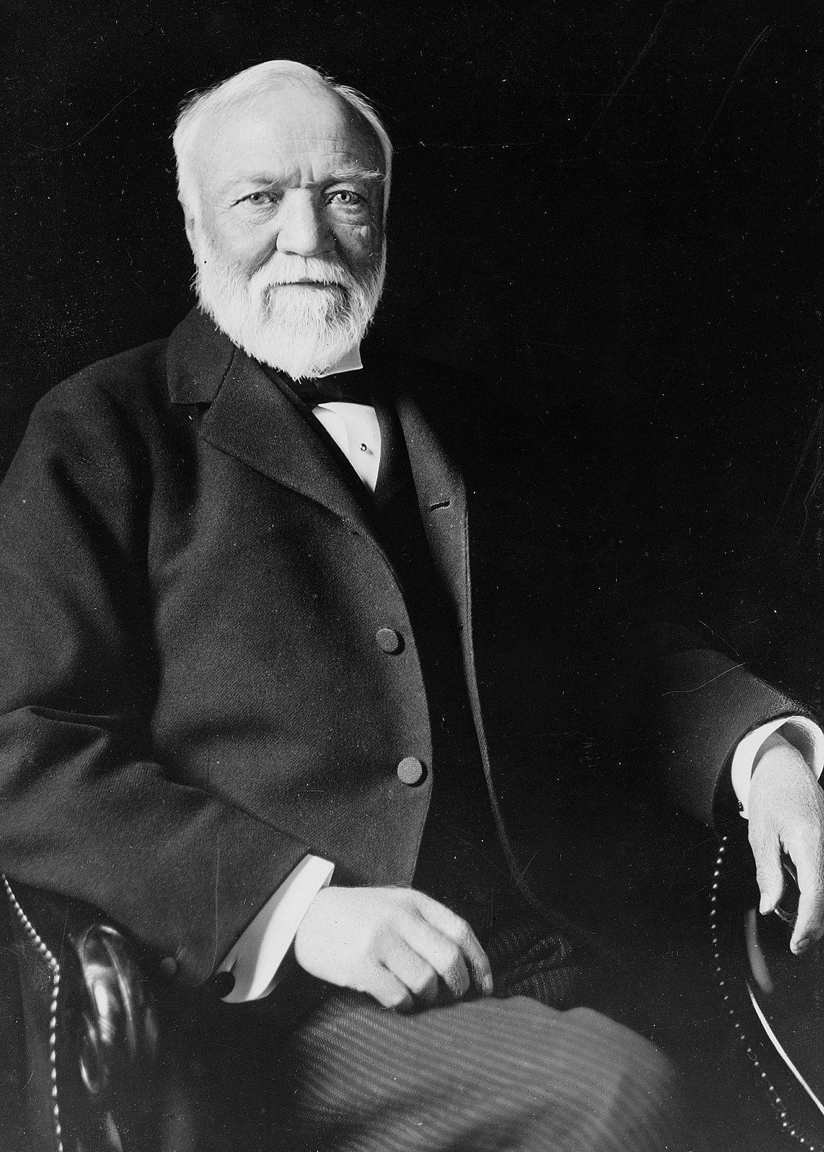 Andrew Carnegie donated 10 billion dollars ($10bn)