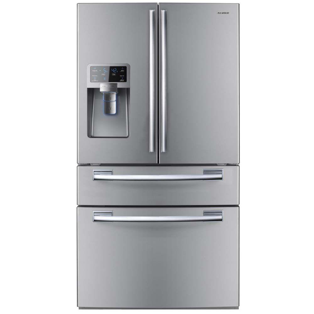 Refrigerador Samsung French Door com Dispenser de Água 614L Inox ...