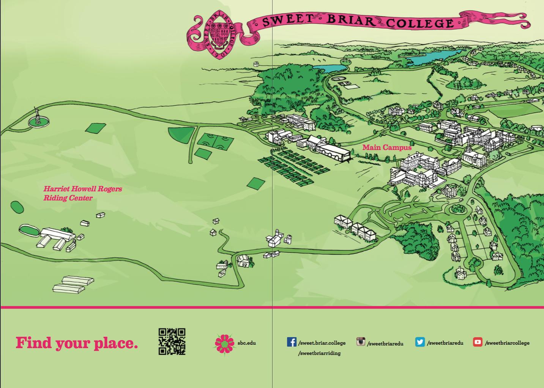Sweet Briar College Campus Map Campus Sweet Briar College