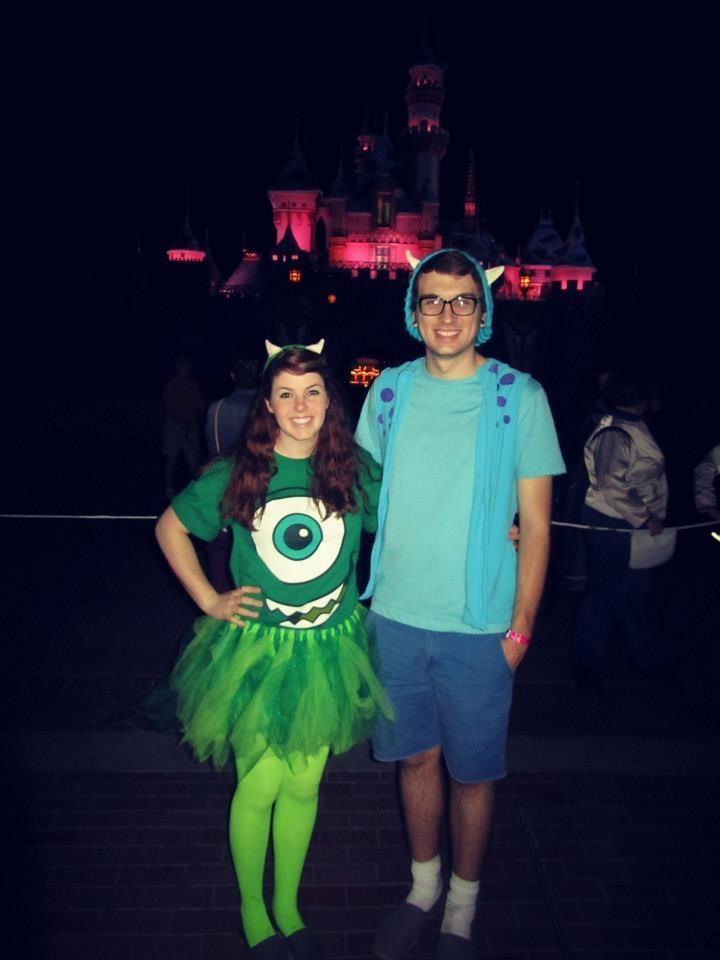cute couple halloween costumes disney