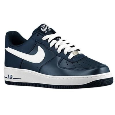 Nike Air Force 1 Low Mens Armory Navy/White/ Fashion Items I